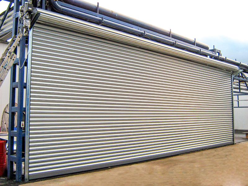 гаражные рулонные ворота
