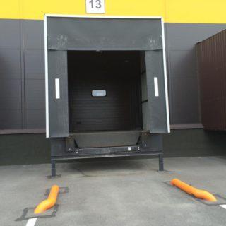 промышленные секционные ворота №11
