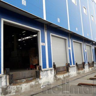 промышленные секционные ворота №1