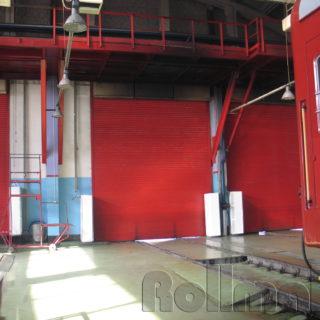 промышленные рулонные ворота №3