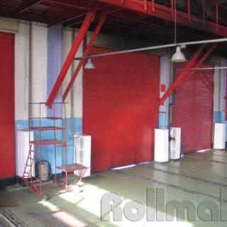 промышленные рулонные ворота №4