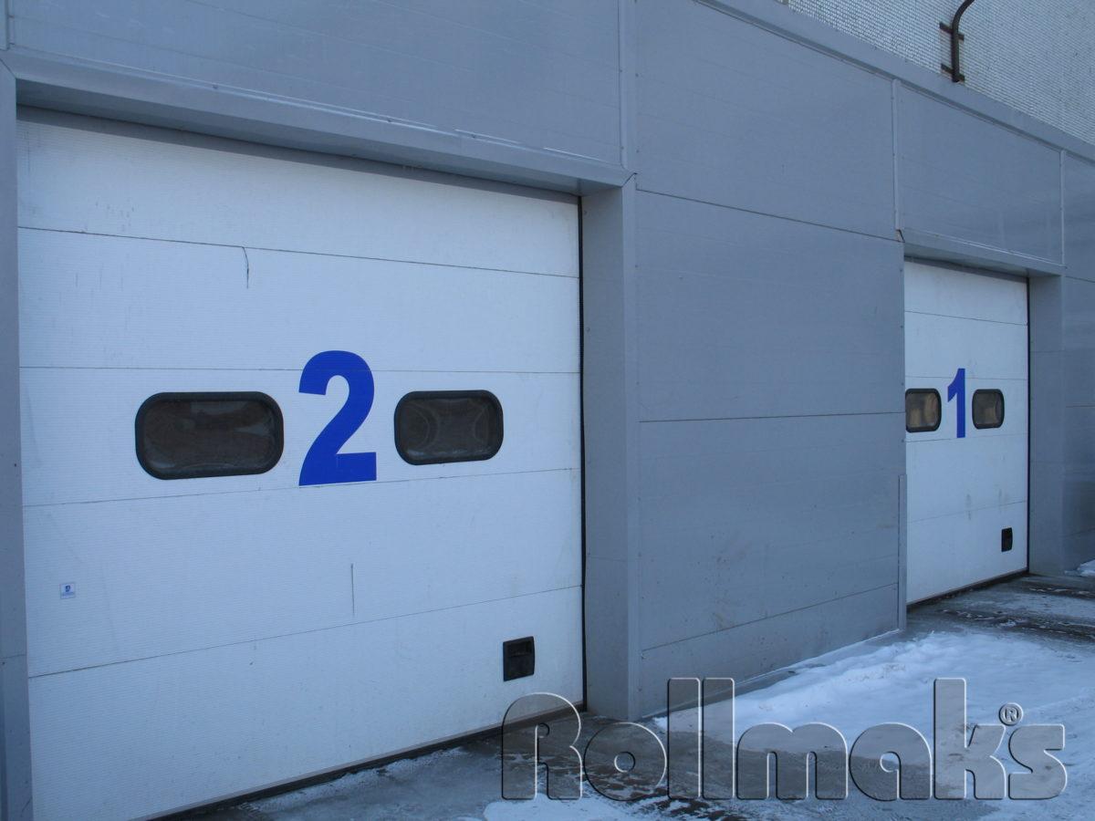 секционные ворота для гаража заказать