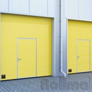 промышленные секционные ворота №7