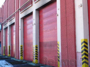 промышленные рулонные ворота №5