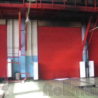 промышленные секционные ворота №9